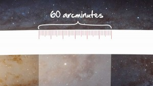 60 arcminutes