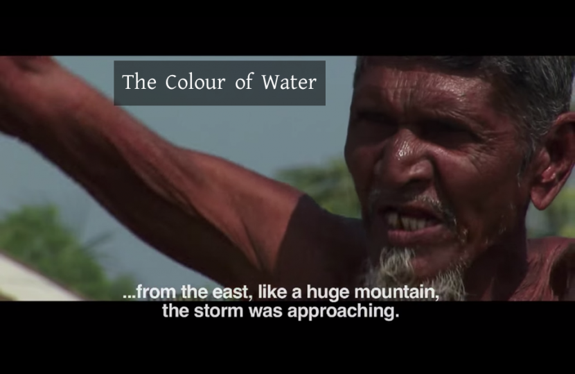জলের রঙ, The Colour of Water