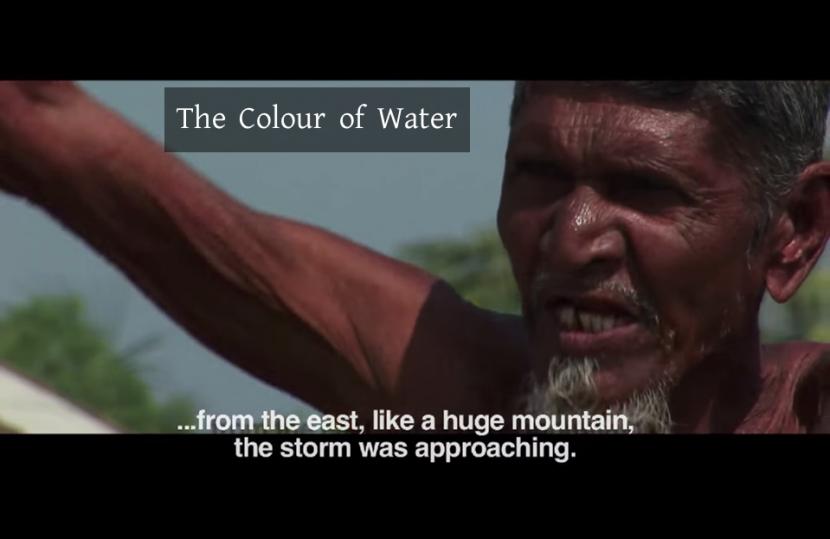 জলের রঙ, The Colour of Water
